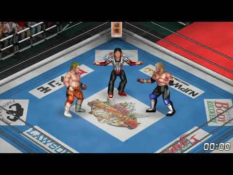 nL Live - Fire Pro Wrestling World ON PS4! NEW JAPAN DLC!