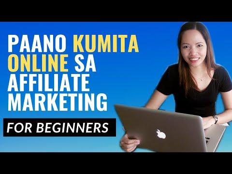 Paano Kumita Online Sa Affiliate Marketing For Beginners – Tagalog