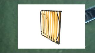 Pragma Bed Wooden Slat Bed Frame Twin