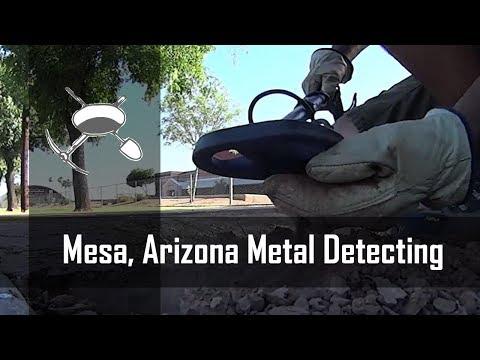 Mesa, Arizona Metal Detecting