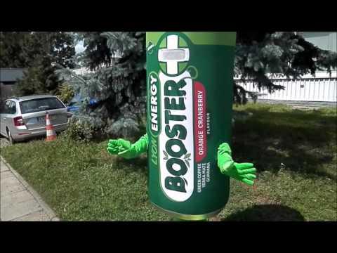 Elabika stroje reklamowe Puszka Lyon Energy Booster