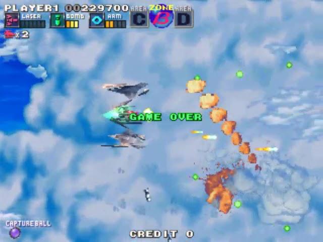 Jouez à G-Darius sur Borne d'Arcade avec nos Bartops et Consoles Retrogaming