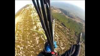 Parapente en la vall d'Àger