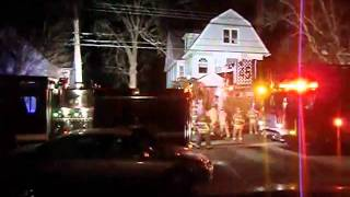7 Williams St house fire Pawcatuck, CT 3/1/11
