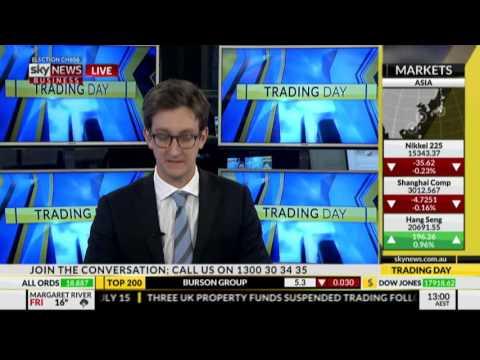 Michael Wayne on SKY News Business 7th July