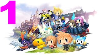 World Of Final Fantasy Gameplay Italiano Walkthrough Episodio 1 [PS4]