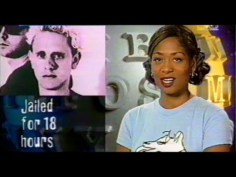 MTV News on the arrest of Martin Gore And Dave Gahan (1993)