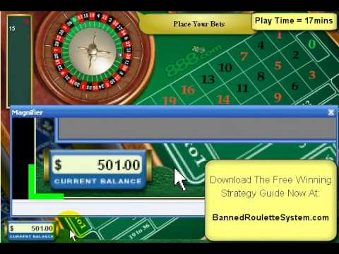 A roulette strategy that works