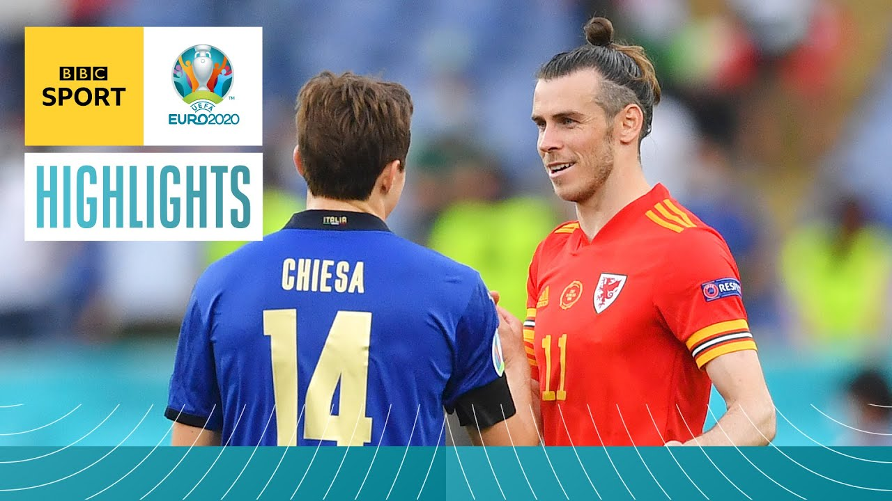 Highlights: Wales in last 16 despite being beaten by Italy in Rome   UEFA Euro 2020