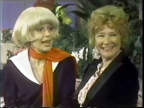 Carol Channing, Dody Goodman, Jerry Herman, Dinah Shore1977 TV