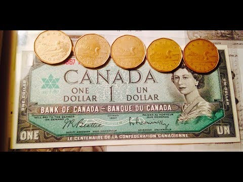 1967 Canadian Dollar Bill