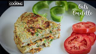 Oats Omelette | Healthy Recipe | Diet Food
