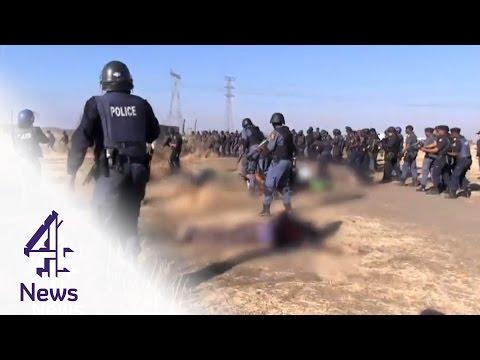 Marikana massacre: should Ramaphosa face murder charges?   Channel 4 News