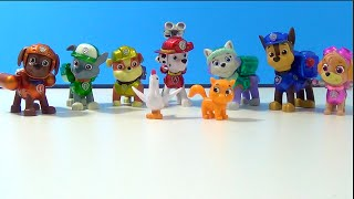 Unboxing Paw Patrol *Limited Edition* Action Pack Pup *Metallic Series 9* Figure Set