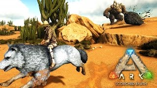 ARK: Scorched Earth - ROCK ELEMENTAL ATTACK!!! - Scorched Earth Gameplay [11]