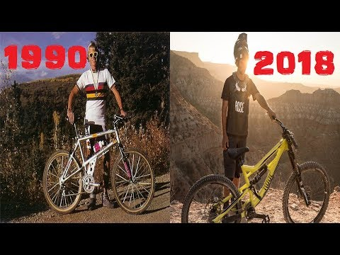 Evolution Of Downhill (1990-2018)
