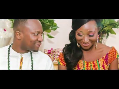 Beautiful Ghanaian Traditional Engagement - Evans & Erasmina