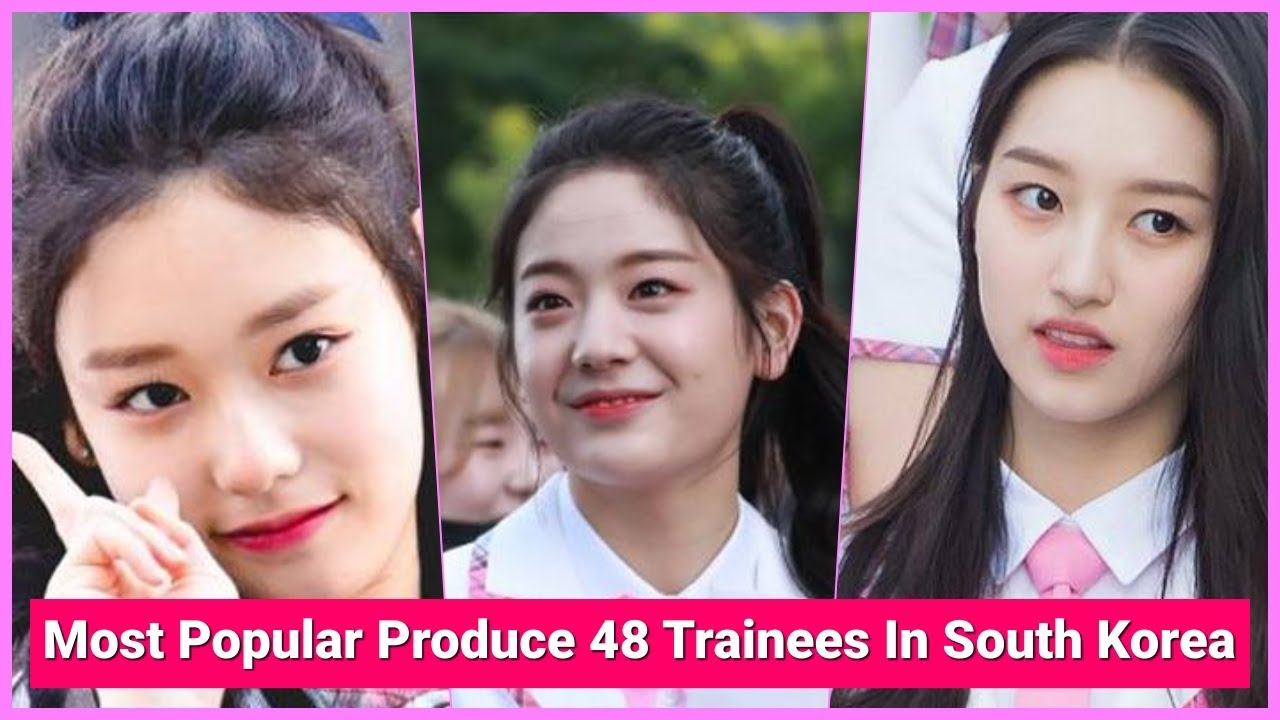 TOP 5 | Most Popular Produce 48 Trainees In South Korea