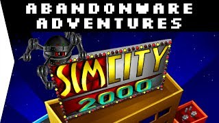 SimCity 2000 ► 1995 City-builder (CD) - Download & Gameplay - [Abandonware Adventures!]