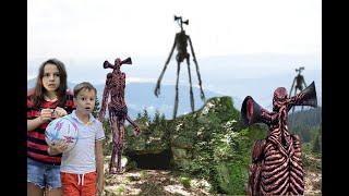 Сиреноголовый продолжение Логово Сиреноголовых в Реальной жизни Siren Head  Horror