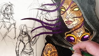 STEAMPUNK DEMIGOD - Character Design Session!