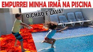 O CHÃO É LAVA!  The Floor is Lava Challenge
