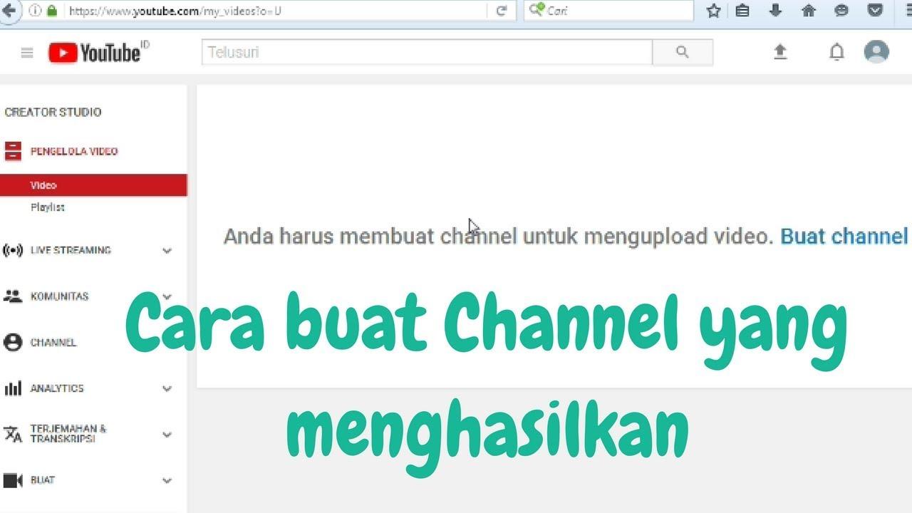 Cara Mendaftar Google Adsense Untuk Channel Youtube Tutorial A Z L Youtube