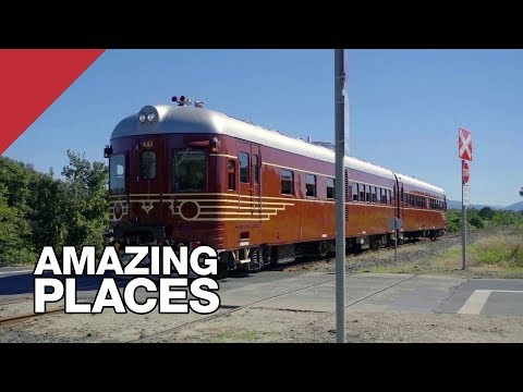 The World's First Solar Powered Train