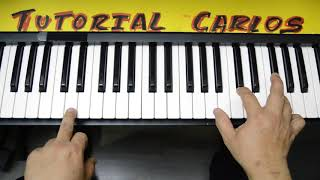 Que Me Falte Todo Zuleika Barreiro  Piano Tutorial Carlos