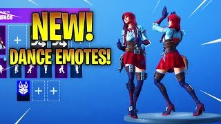 *NEW* FABLE SKIN With NEW DANCE EMOTES! Fortnite Battle Royale
