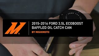 homepage tile video photo for 2015-2016 Ford F-150 3.5L EcoBoost Baffled Oil Catch Can Installation Guide by Mishimoto
