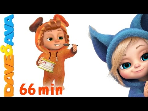 Thumbnail: 🌟 Johny Johny Yes Papa Collection | Nursery Rhymes Songs from Dave and Ava 🌟
