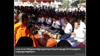 CNRP Celebrates Blessing to the Spirit of Death of Protesting Workers