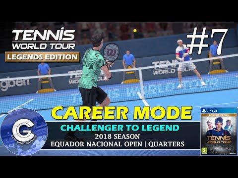 Let's Play Tennis World Tour | Career Mode #7 | APPLYING OUR SKILLS! | Tennis World Tour Career Mode