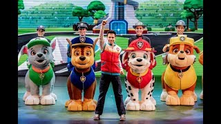 Semra goes to Paw Patrol dancing show