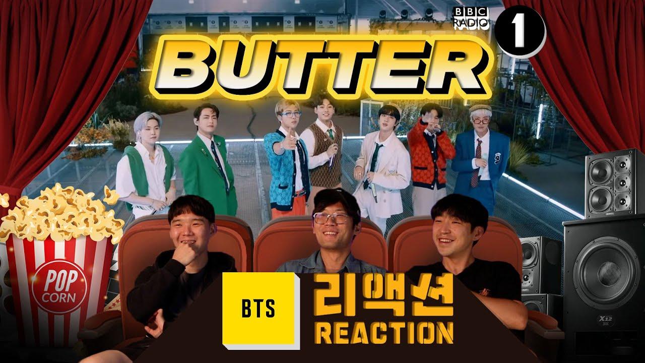 [ENG SUB]BTS 'Butter' BBC Radio 1 Reaction/비비씨 라디오 원 '버터' 리액션🎬 [이유있는 영화관]