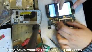 Samsung Galaxy G350e replace touchscreen / замена сенсора