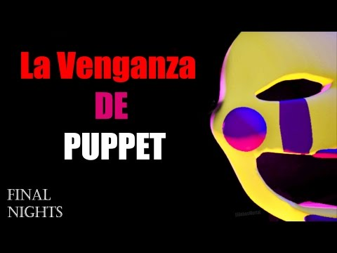 Nuevo five nights at puppet s 3d final nights fnaf 4 fan game