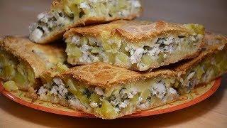 Простой рецепт пирога в духовке  Быстрый заливной пирог с курицей и картошкой на майонезе и кефире
