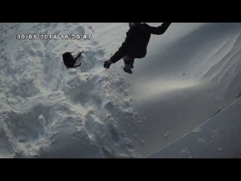 прыгали с м.видео, полярная станция