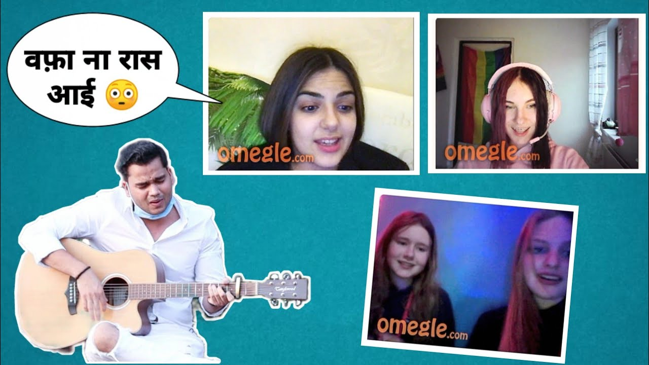 Omegle Singing Reaction & Fun (Roasting) | Siddharth Shankar