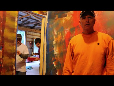 PSYCHO DAD'S PAINT FREAKOUT!