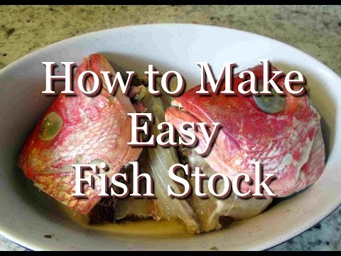 How To Make Easy & Delicious Fish Stock
