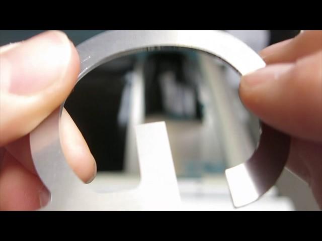 Aluminum Letters - Router