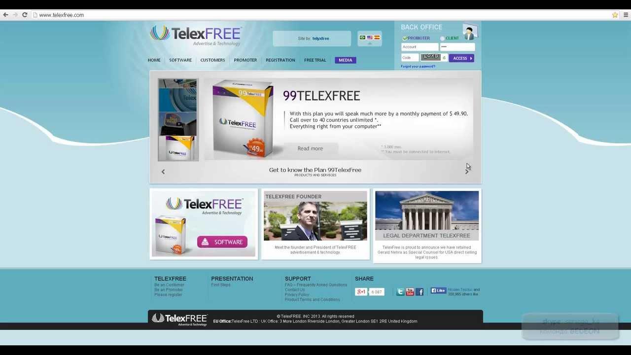 telexfree links generator
