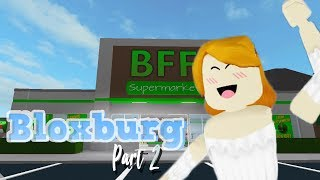 ROBLOX Indonesia ☆-Bloxburg (shopping at Supermarket ❀ ◕ ‿ ◕ ❀))-Part 2