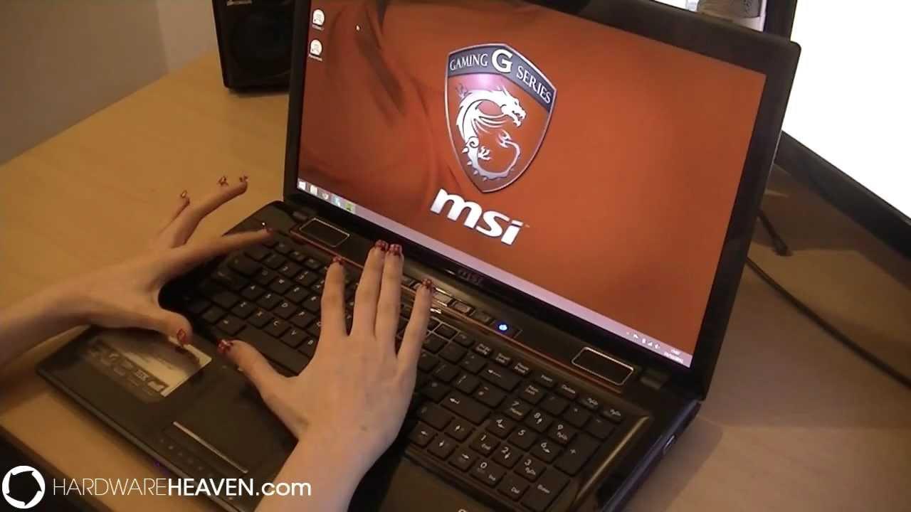 Msi Ge70 Gaming Laptop Review Core I7 Geforce Gtx 600 Series Etc