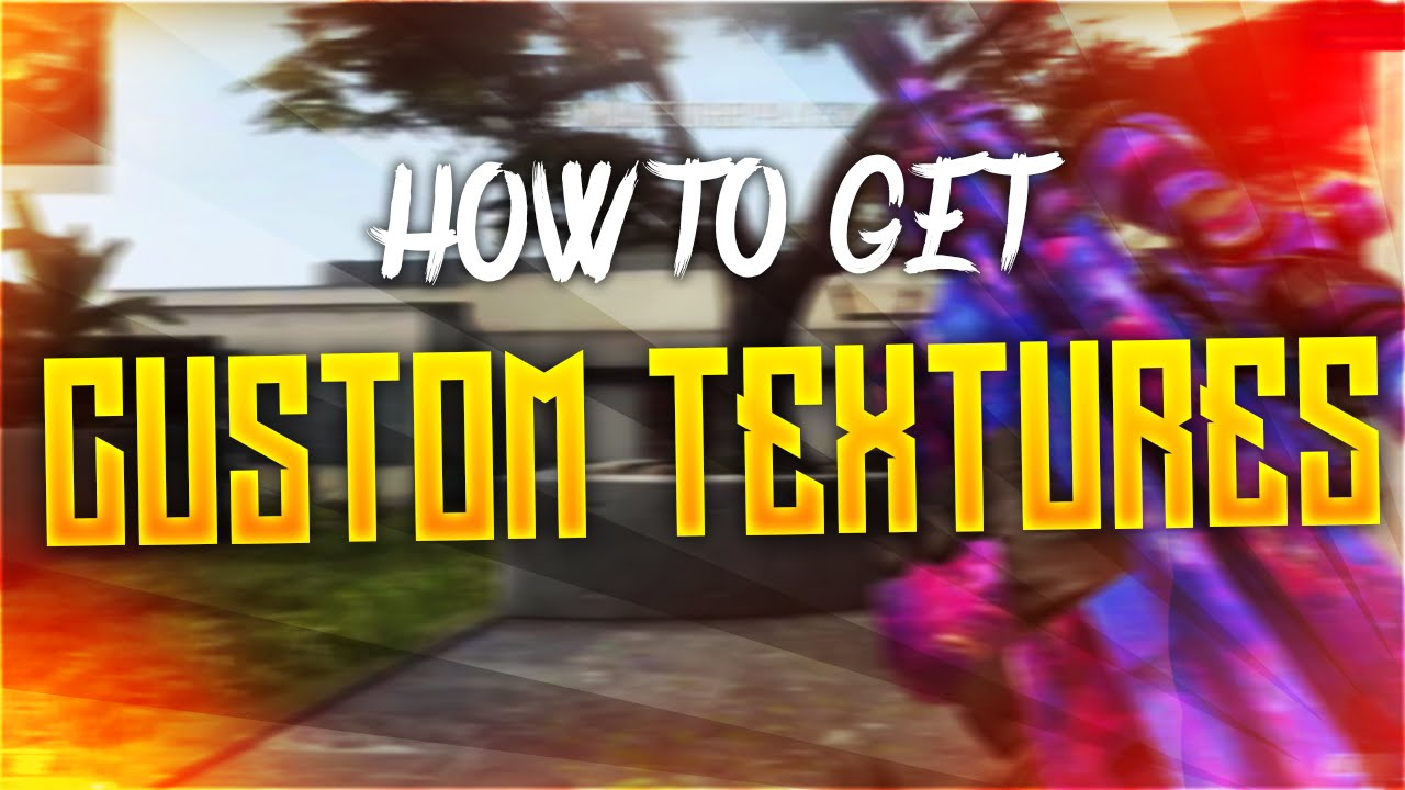 HOW TO INSTALL CUSTOM CAMOS/TEXTURES - REDACTED [PC]