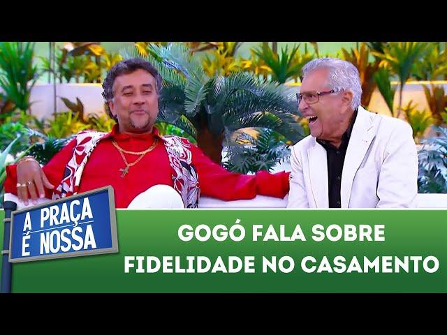 Gogó fala sobre fidelidade no casamento | A Praça É Nossa (01/11/18)