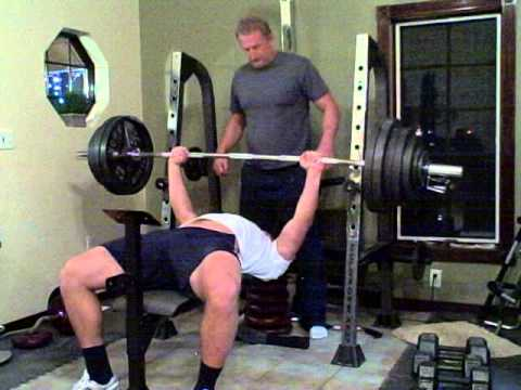 Ryan Crouser bench press